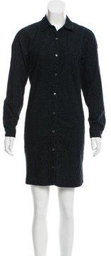 Steven Alan Long Sleeve Polka Dot Dress
