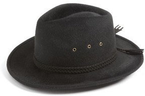 Eric Javits Women's Stanwyck Wool Felt Fedora - Black