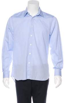Calvin Klein Collection Jacquard Dress Shirt