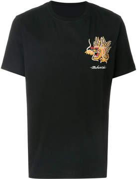 MHI embroidered dragon T-shirt