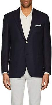Caruso MEN'S WOOL-CASHMERE HOPSACK TWO-BUTTON SPORTCOAT