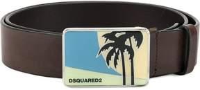 DSQUARED2 scenic buckle belt