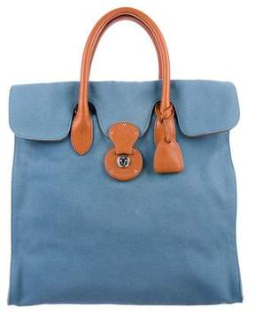 Ralph Lauren Ricky Canvas Tote