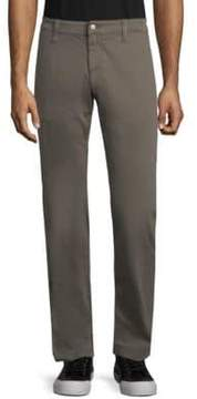 Mavi Jeans Zach Grey Twill Straight-Leg Pants