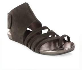Pedro Garcia Jezabel Castoro Lame Toe Ring Sandals