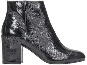 Julie Dee Black Patent Leather Bootie