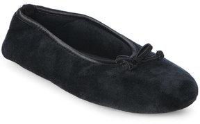 Dearfoams Microfiber Ballet Slippers
