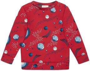 Gucci Children's space snake print sweatshirt