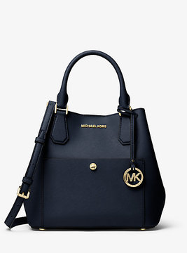 Michael Kors Greenwich Saffiano Leather Satchel