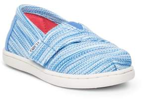 Toms Blue Space Dye Sneaker (Toddler & Little Kid)
