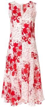 Ermanno Scervino centre seam floral dress