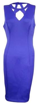 GUESS Women's Cutout Bodycon Dress