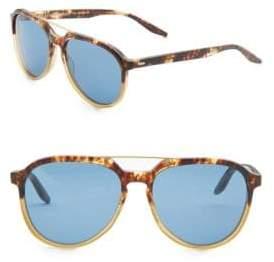 Barton Perreira Bulger 59MM Aviator Sunglasses
