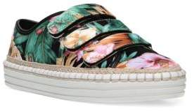 Fergie Grove Espadrille Floral-Print Sneakerds