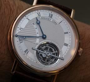 Breguet Classique Complications Tourbillon Extra-Plat 18kt Pink Gold Men's Watch