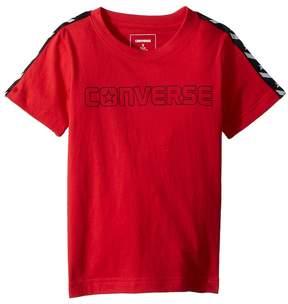 Converse Star Chevron Wordmark Tee Boy's Clothing