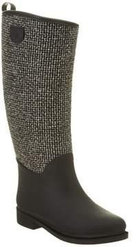 dav Cardiff Tweed Rain Boot.