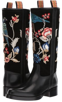 Etro Embroidered Boot Women's Boots