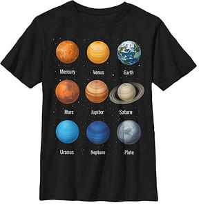 Fifth Sun Black Planet Lineup Crewneck Tee - Boys