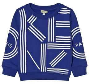 Kenzo Royal Blue Logo Sweatshirt