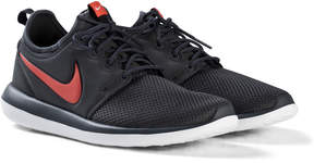 Nike Black and Red Roshe Shoes