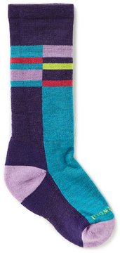 Smartwool Girls Striped Knee-High Socks