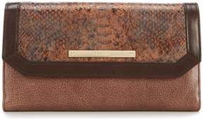 Brahmin Barrow Collection Soft Checkbook Wallet