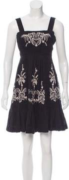 ALICE by Temperley Embroidered Mini Dress