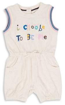 ED Ellen Degeneres Baby Girl's I Choose to Be Me Romper