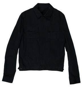 Balenciaga Twill Trucker Jacket