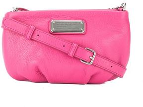 Marc by Marc Jacobs Marc Jacobs Bright Rosa Leather 'New Q Percy' Crossbody Bag (New with Tags) - ONE COLOR - STYLE