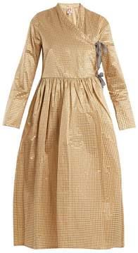 DAY Birger et Mikkelsen SHRIMPS Hermione gingham wrap dress