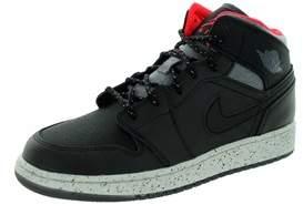 Jordan Nike Kids Air 1 Mid Holiday Bg Basketball Shoe.