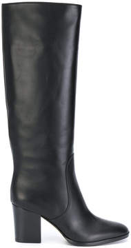 Sergio Rossi knee-length heeled boots