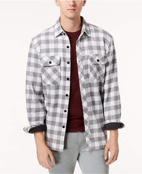 Rip Curl Men's Fleece-Lined Check Flannel Shirt