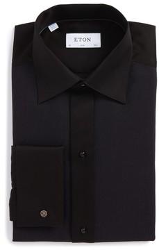 Eton Men's Slim Fit Microprint Tuxedo Shirt