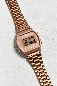 Casio Vintage Digital Clasp Metal Watch