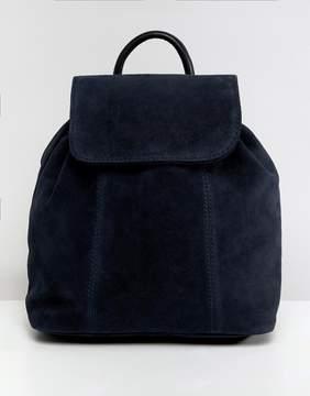Asos DESIGN suede backpack