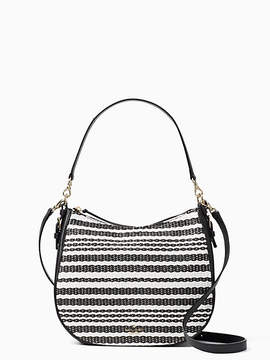 Kate Spade Cobble hill straw mylie - BLACK/CEMENT - STYLE