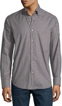 Neiman Marcus Medium Gingham Sport Shirt