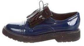 Nicholas Kirkwood Patent Leather Kiltie Oxfords