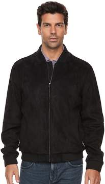 Marc Anthony Men's Slim-Fit Faux-Suede Bomber Jacket