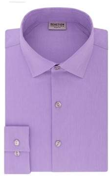 Kenneth Cole Reaction Slim-Fit Spread Collar Dress Shirt
