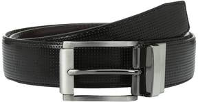 Steve Madden 35mm Perforated Dress Belt Men's Belts