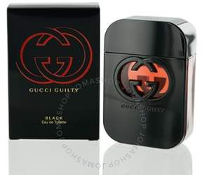Gucci Guilty Black by EDT Spray 2.5 oz