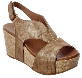 Antelope 855 Leather Wedge Sandal.