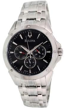 Bulova Men's Stainless Steel Bracelet Watch 43mm 96C107