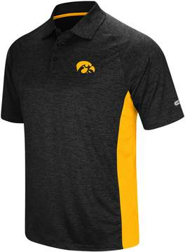 Colosseum Men's Iowa Hawkeyes Wedge Polo