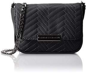 Armani Exchange A X Quilted Pu Crossbody