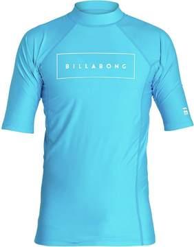 Billabong All Day United Performance Fit Short-Sleeve Rashguard - Boys'